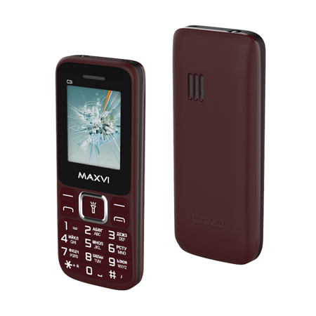Maxvi C3i Wine red